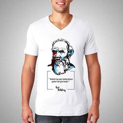 - Lev Tolstoy Esprili Tişört