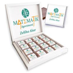 - Matematik Öğretmenine Hediye Çikolata Kutusu