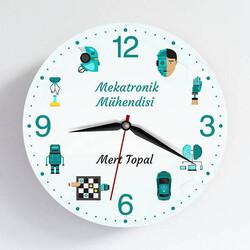 - Mekatronik Mühendisine Hediye Duvar Saati