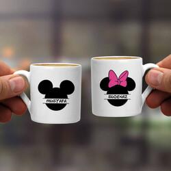 - Mickey Cartoon İkili Kahve Fincanı