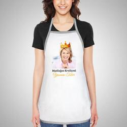 - Mutfağın Kraliçesine Özel Mutfak Önlüğü