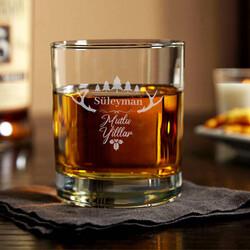 - Mutlu Yıllar İsimli Viski Bardağı