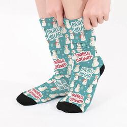 - Mutlu Yıllar İsme Özel Çorap