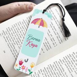 - Mutluluk Yağmuru İsimli Kitap Ayracı