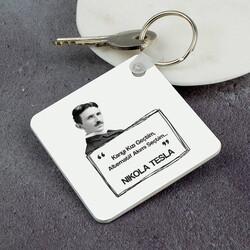 - Nikola Tesla Esprili Anahtarlık