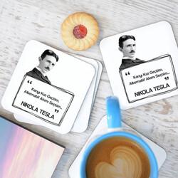 - Nikola Tesla Esprili Bardak Altlığı Seti