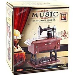 Nostaljik Dikiş Makinesi Müzik Kutusu - Thumbnail