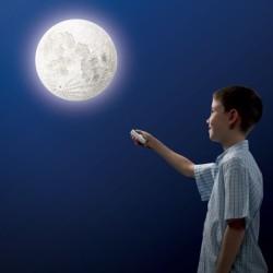 - Odamdaki Ay Kumandalı Gece Lambası