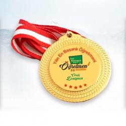 - Öğretmenlere Hediye Anlamlı Madalyon