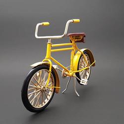 - Orijinal Metal Bisiklet Sarı
