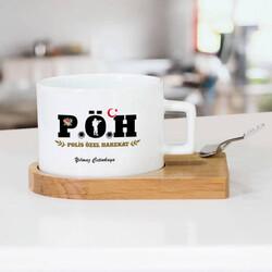 - Özel Harekat Polisine Hediye Çay Fincanı