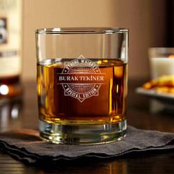- Özel Tasarım İsimli Viski Bardağı