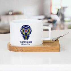 - Polislere Özel Çay Fincanı