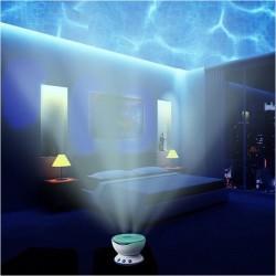 - Projeksiyonlu Okyanus Dalgaları Gece Lambası
