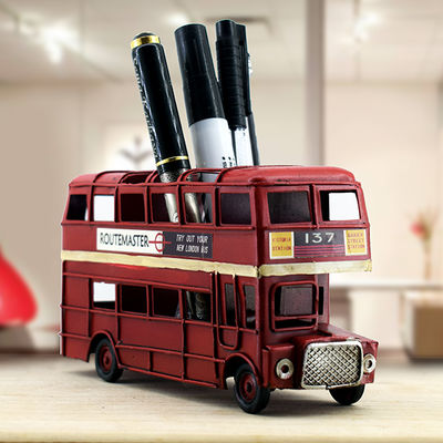 - Retro Otobüs Kalemlik London Bus