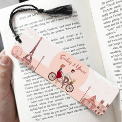 - Romantik Aşıklar İsimli Kitap Ayracı