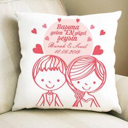 - Romantik Aşıklar Sevgili Yastığı