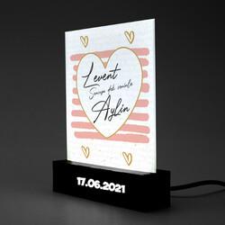 - Romantik Tasarımlı Led Işıklı Dekor
