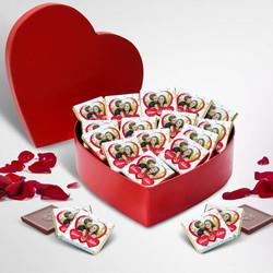 - Sana Kucak Dolusu Sevgim Kalp Kutuda Çikolata