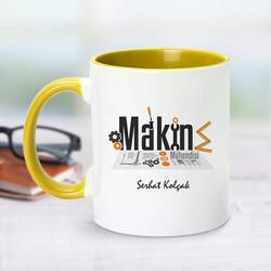 - Sarı Kupa Bardak Makine Mühendislerine Özel