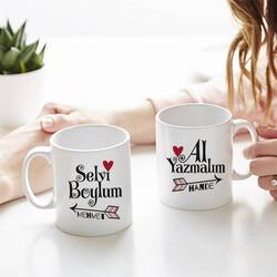 - Selvi Boylum Tasarım İkili Sevgili Kupası