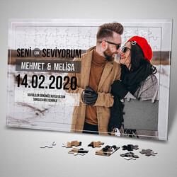 - Sevgililer Günü Hediyesi 130 Parça Puzzle