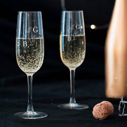 - Sevgililer Günü Hediyesi İkili Şampanya Kadehi