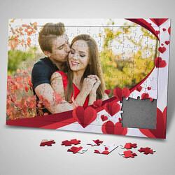 - Sevgililer Günü Sürprizi Fotoğraflı Puzzle