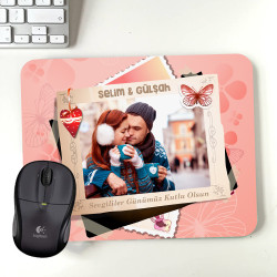 - Sevgililere Özel Fotoğraflı Mousepad