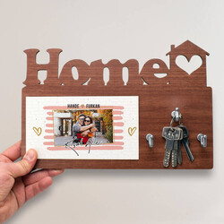 - Sevgililere Özel Home Anahtarlık Askısı