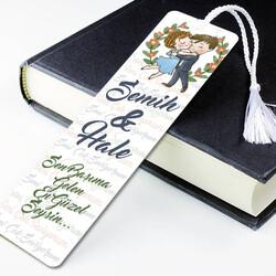 - Sevgililere Özel Mesajlı Kitap Ayracı