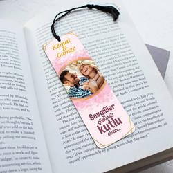- Sevgililere Özel Resimli ve İsimli Kitap Ayracı