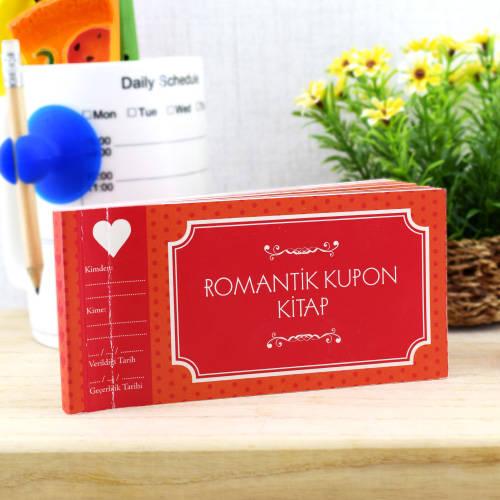 Sevgililere Özel Romantik Kupon Kitap