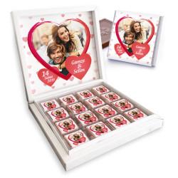 - Sevgiliye Hediye Fotoğraflı Kutu Çikolata
