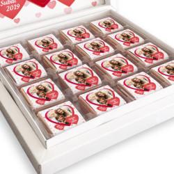 Sevgiliye Hediye Fotoğraflı Kutu Çikolata - Thumbnail
