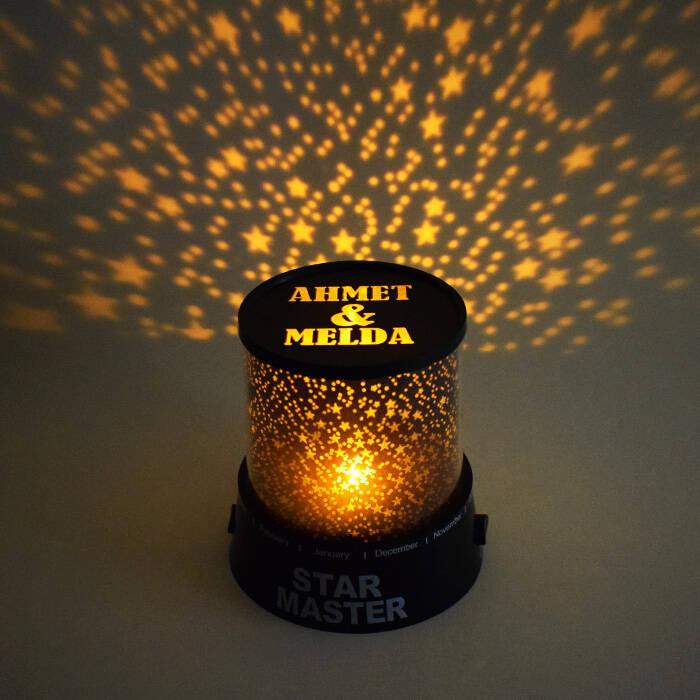 Sevgiliye Hediye Star Master Gece Lambası