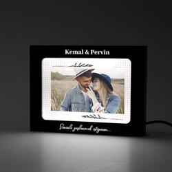 - Sevgiliye Işıklı ve Fotoğraflı Resim Çerçevesi