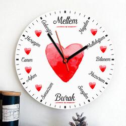 - Sevgiliye Özel Sözler Duvar Saati