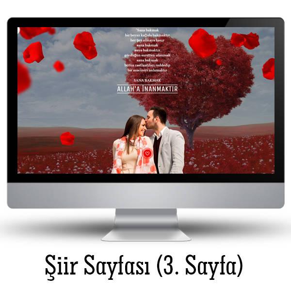 Sevgiliye Özel Web Sitesi