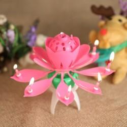 - Sihirli Çiçek Pasta Mumu
