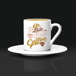 - Şık Tasarımlı Kahve Fincanı