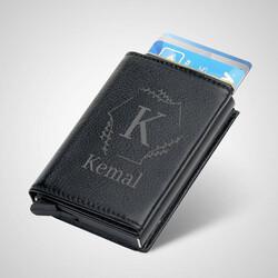 - Şık Tasarımlı Kişiye Özel Kredi Kartlık Cüzdan