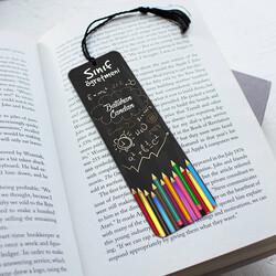 - Sınıf Öğretmenine Hediye Kitap Ayracı