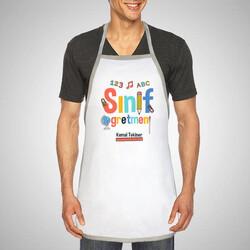 - Sınıf Öğretmenine Hediye Mutfak Önlüğü