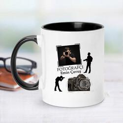 - Siyah Kupa Bardak Fotoğrafçılara Özel