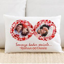 - Sonsuz Aşkımız 2 Fotoğraflı Yastık