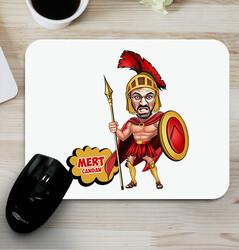 - Spartalı Karikatürlü Mouse Pad