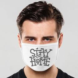 - Stay Home Tasarım Yıkanabilir Maske