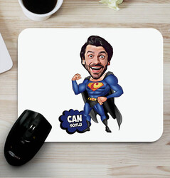 - Süper Erkek Karikatürlü Mouse Pad