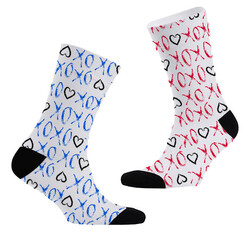 - Tasarım 2li Sevgili Çorap Seti